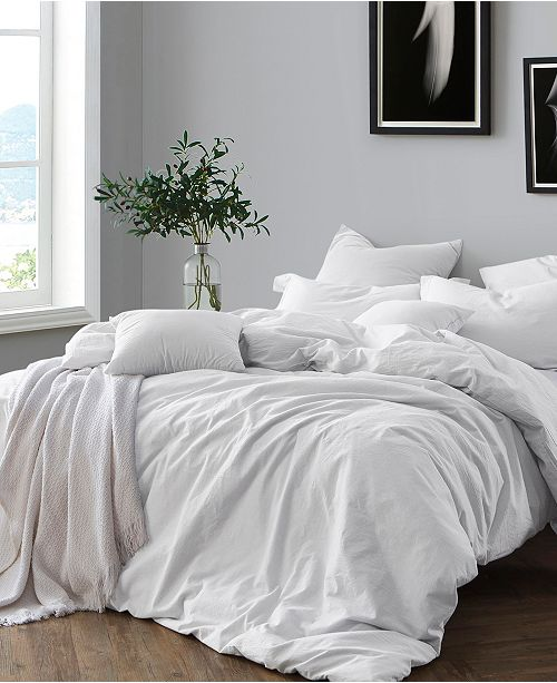 Cathay Home Inc. Yarn Dyed Twin/Twin XL Duvet Cover Set