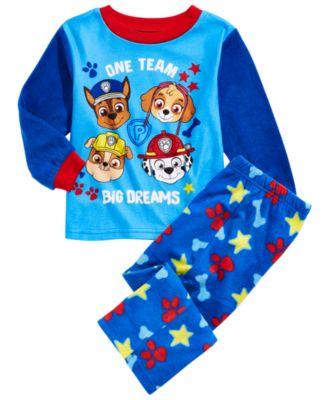 AME Toddler Boys Blue Mickey Mouse 2 pc Sleepwear Pajama Set