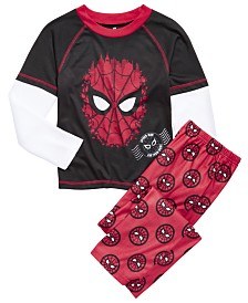 AME Little & Big Boys 2-Pc. Spider Man Pajamas Set