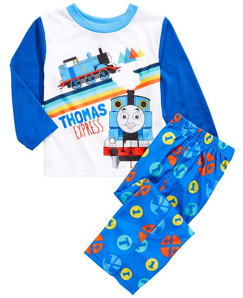 AME Toddler Boys 2-Pc. Thomas The Tank Pajamas Set