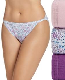 Jockey Elance String Bikini Underwear 3 Pack 1483