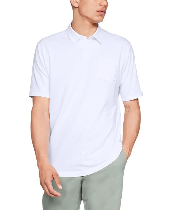 Under Armour Men's Charged Cotton® Scramble Polo