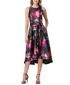 Tahari ASL Jacquard Dress