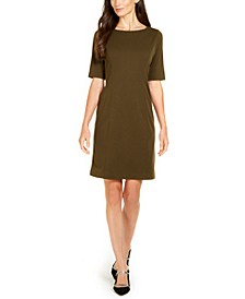 Petite Solid Sheath Dress, Created for Macy's
