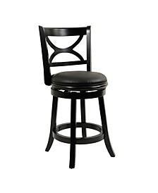 "Florence Collection 24"" Swivel Bar Stool"