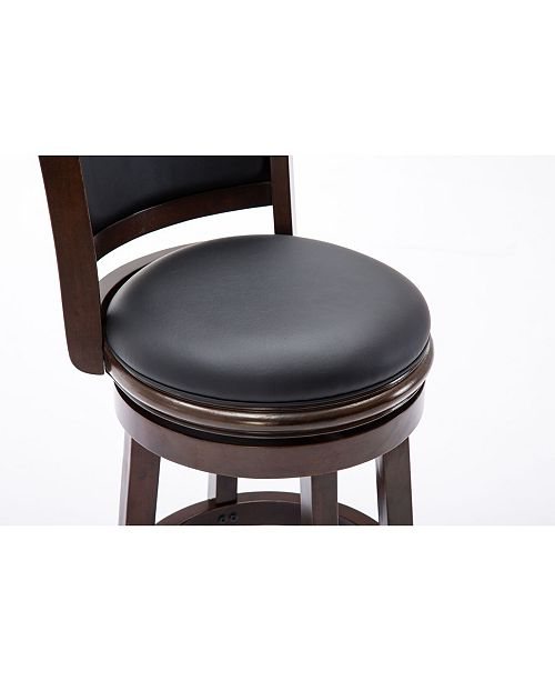 Pleasing Augusta Collection 24 Swivel Barstool Gmtry Best Dining Table And Chair Ideas Images Gmtryco