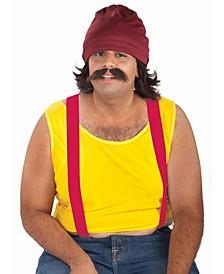 Cheech Kit - Cap, Wig and Moustache