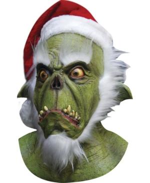 Adult Evil Santa Mask