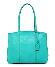 Dancing Leather Tote Bag