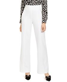 I.N.C. High-Waist Wide-Leg Trouser Pants, Created for Macy's