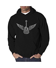 Men's Word Art Hooded Sweatshirt - Amazing Grace