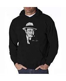 Men's Word Art Hoodie - Al Capone - Original Gangster