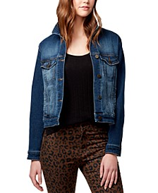 Kyle Cropped Denim Jacket
