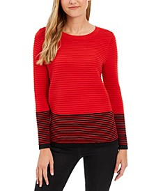 Colorblocked Ottoman Sweater, Created for Macy's