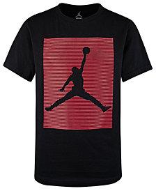 Jordan Big Boys Cotton Logo-Print T-Shirt