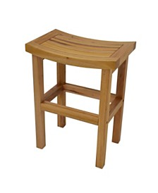 "Tectona 24"" Counter Stool, Quick Ship"