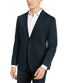Men's Slim-Fit Stretch Knit Sport Coat