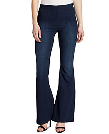 Ella Moss Flared Pull-On Jeans