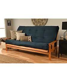 Monterey Futon in Butternut Finish