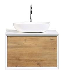 Piscis Bathroom Vanity with Integrated Porcelain Sink