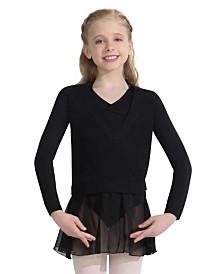Capezio Little Girls Wrap Sweater
