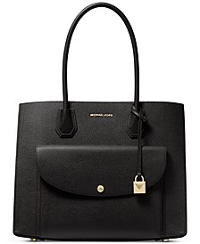 Mercer Pocket Leather Tote