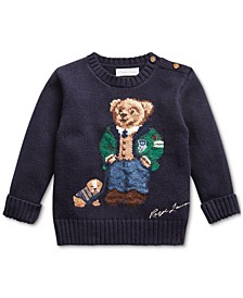 Baby Boys Cotton Bear Sweater