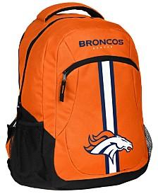 Forever Collectibles Denver Broncos Action Backpack