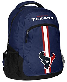 Forever Collectibles Houston Texans Action Backpack