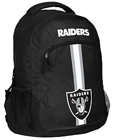 Forever Collectibles Oakland Raiders Action Backpack