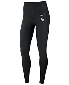 Nike Women's Oklahoma Sooners Power Sculpt Leggings