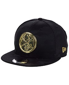 New Era Denver Nuggets Stealth Metal 9FIFTY Snapback Cap