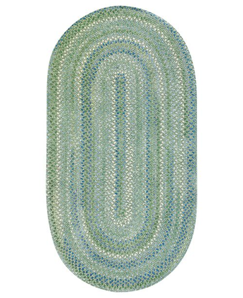 Capel Rugs, Sailor Boy Oval Braid 0470-200 Sea Monster