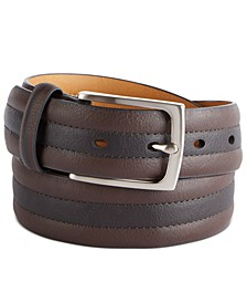 Men's Two-Tone Belt, Created for Macy's