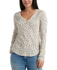 Lucky Brand Cotton Thermal Top