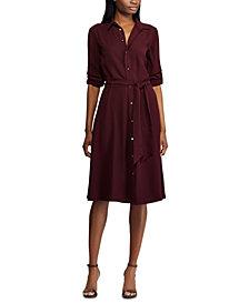 Lauren Ralph Lauren Fit & Flare Shirtdress