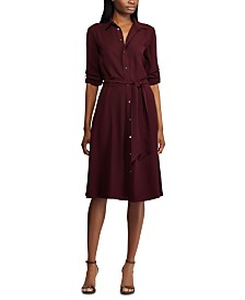 Lauren Ralph Lauren Fit & Flare Shirtdress