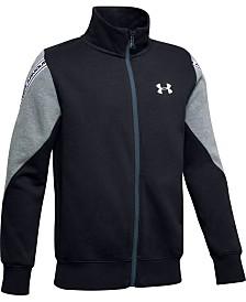 Under Armour Big Boys Sportstyle Fleece Zip-Up Sweatshirt