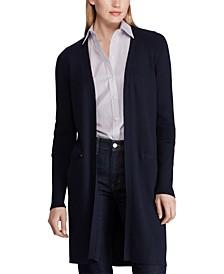 Ribbed Long Cardigan