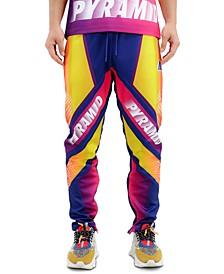 Men's Graded Speed Colorblocked Logo-Print Track Pants