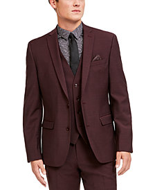 Bar III Men's Slim-Fit Active Stretch Solid Suit Jacket, Created for Macy's