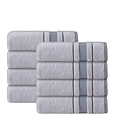 Enchante Home Enchasoft Turkish Cotton 8-Pc. Hand Towel Set