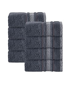 Enchante Home Enchasoft Turkish Cotton 8-Pc. Wash Towel Set