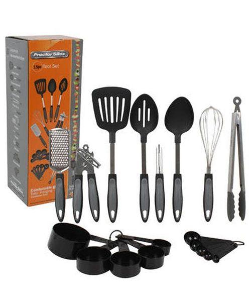 Proctor Silex 18-Piece Cutlery and Kitchen Gadget Set