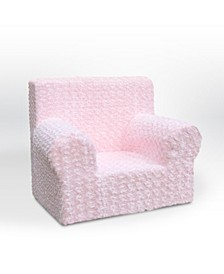 Kangaroo Trading Co. Kid's Grab-N-Go Foam Chair, Rose Cuddle