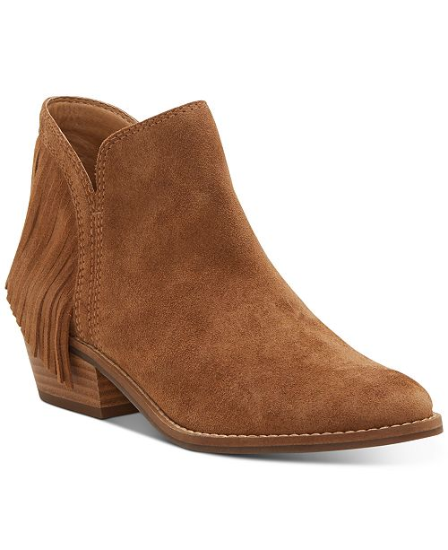 Lucky Brand Women's Freedah Leather Booties