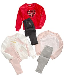 Big Girls Sweatshirts & Jogger Pants, Created for Macy's