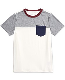 Epic Threads Big Boys Colorblocked T-Shirt, Created For Macy's