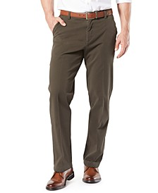 Men's Workday Smart 360 Flex Classic Fit Khaki Stretch Pants