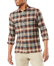 Dockers Men's Alpha Flannel Shirt